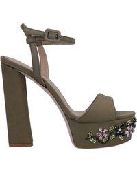 Le Silla Sandals - Green