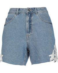 Vero Moda Short en jean - Bleu