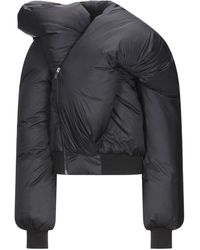 Rick Owens Down Jacket - Black