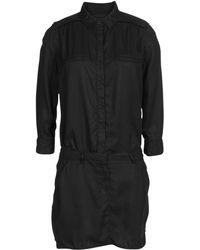 Etienne Marcel Short Dress - Black
