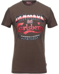Carlsberg T-shirt - Brown