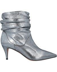 Pura López Ankle Boots - Metallic