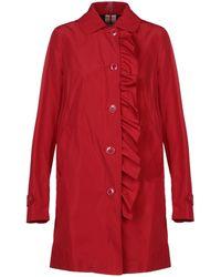 Geospirit Overcoat - Red
