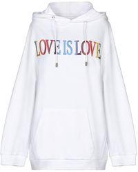 Alberta Ferretti Sweat-shirt - Blanc
