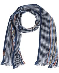 Tod's Oblong Scarf - Blue