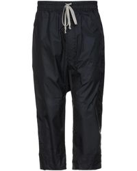 Rick Owens Drkshdw 3/4-length Trousers - Black