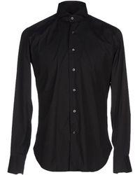 Cruciani Shirt - Black