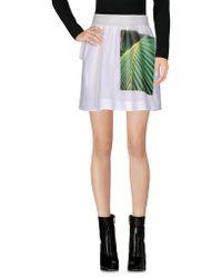 Fyodor Golan Mini Skirt - White