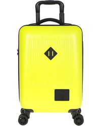 Herschel Supply Co. Wheeled luggage - Yellow