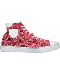 Saint Laurent Sneakers - Red