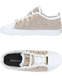 Black Dioniso Low Sneakers & Tennisschuhe - Weiß