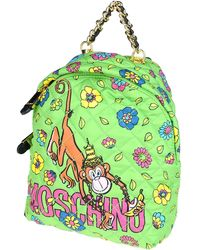 Moschino - Crowned Monkey Backpack - Lyst