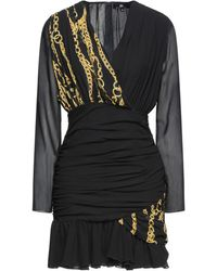 DIVEDIVINE Short Dress - Black