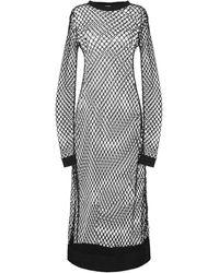 Dodo Bar Or 3/4 Length Dress - Black