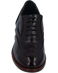 Delpozo Lace-up Shoes - Black