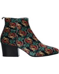 Lisa Corti Ankle Boots - Green