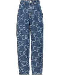 Chiara Ferragni Pantalon en jean - Bleu