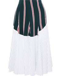 TOME Midi Skirt - Green