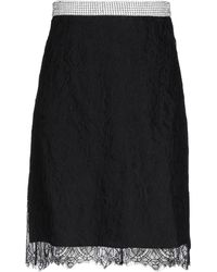 Nina Ricci Midi Skirt - Black