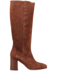 Kanna Knee Boots - Brown