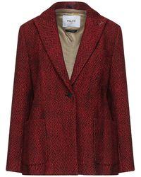 Paltò Suit Jacket - Red