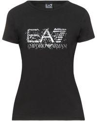 EA7 T-shirts - Schwarz