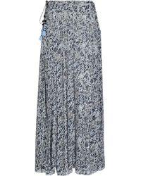 Poupette Long Skirt - Blue