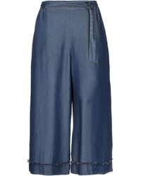 Maria Grazia Severi Pantalon - Bleu