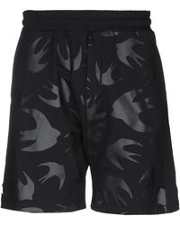 McQ Bermuda Shorts - Black