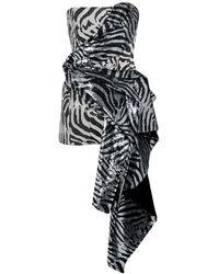 Halpern Robe courte - Noir
