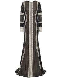 Naeem Khan Vestido largo - Negro