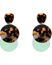 Giorgio Armani Earrings - Green