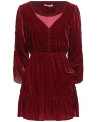 Mes Demoiselles Robe courte - Rouge