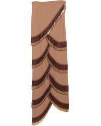 Y. Project Long Skirt - Brown