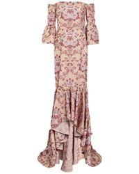 Christian Pellizzari Long Dress - Pink
