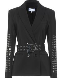 Patrizia Pepe Suit Jacket - Black