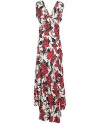 Colville Long Dress - Red