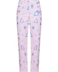 Emporio Armani Denim Pants - Pink