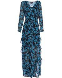 Saloni Long Dress - Blue