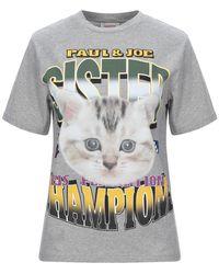 Paul & Joe T-shirt - Gris