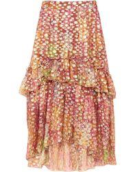 Dundas Midi Skirt - Brown