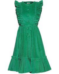 Manoush Vestito midi - Verde