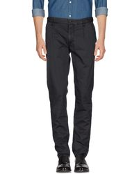 Armani Jeans Casual Trousers - Black