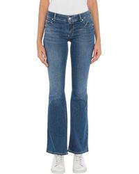 Silvian Heach Pantalon en jean - Bleu