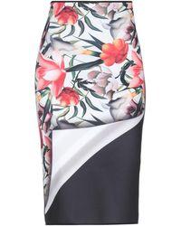 Clover Canyon 3/4 Length Skirt - White