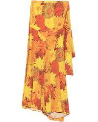 Ellery Mini Skirt - Orange