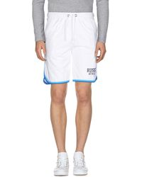 Russell Athletic Bermuda - White