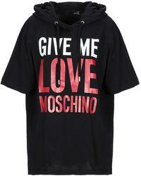 Love Moschino Camiseta - Negro