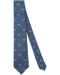 James Purdey & Sons Ties & Bow Ties - Blue
