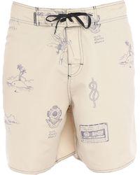 Osklen Pantaloni da mare - Neutro